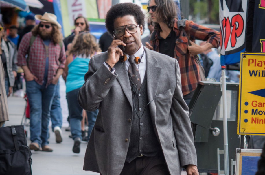 Denzel Washington in Roman J. Israel, Esq.