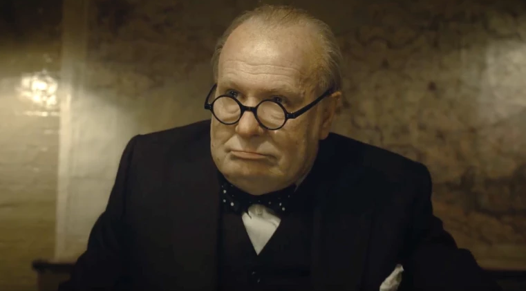 Gary Oldman in Darkest Hour